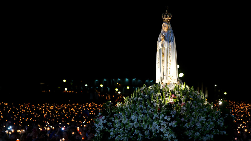 Our lady of Fatima<br>##Leading us along The Way<br>
